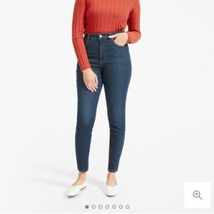 👖 Everlane high-rise stretch skinny jeans